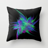 Elusive Butterfly Throw Pillow by MoonBrook