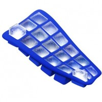 Mini Ice Cube Tray- Blue Flexible Silicone Mold For Easy Ice Cube Removal- FDA Approved Stylish Design- Can Be Used As a Paint Palette- Best Quality- Satisfaction Guaranteed:Amazon:Kitchen & Dining