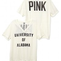 University of Alabama Vintage V-neck Tee - Victorias Secret PINK - Victoria's Secret