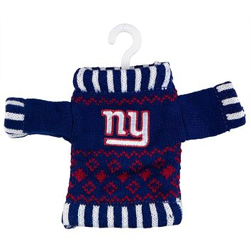 New York Giants - Knit Sweater Ornament