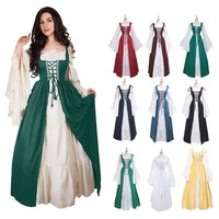 Women's Renaissance Medieval Fancy Dress - Free Shipping