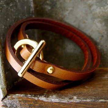 All Four one leather bracelet set...4 of our most popular braclets perfect for layering