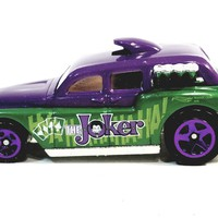 Matchbox Limited Batman Green & Purple The Joker Cockney Cab II 1/64 S Scale Diecast Car