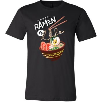 Japanese Ramen Noodle Food Soup Tasty T Shirt
