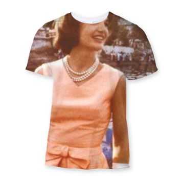 Jackie Kennedy Sublimation T-Shirt