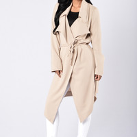 Business Chic Coat - Beige