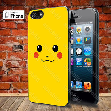 Pikachu Case For iPhone 5, 5S, 5C, 4, 4S and Samsung Galaxy S3, S4