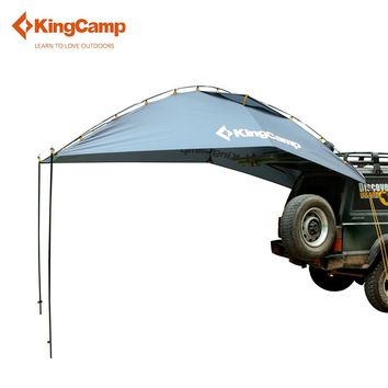 KingCamp Durable 4-Person Car Sun Shelter for Family Self-Driving Camping High Quality Portable Outdoor Tent for Car-travel
