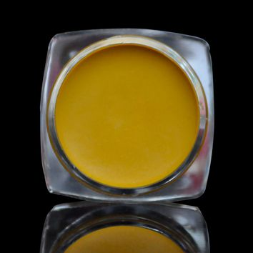 Waterproof Drawing lipstick Long Lasting Lip Art Drawing Cream Yellow Lipstick in Jar N02