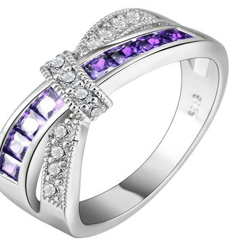Princess Women Wedding Engagement Ring