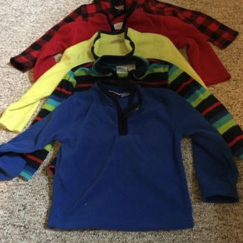 Baby Fleece Pullovers, Lot Of 5, 24 Months GUC