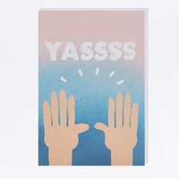 YASSSS Card - Urban Outfitters