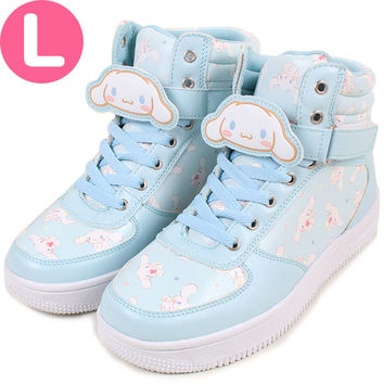Cinnamoroll sneakers with anime clip sneaker L ☆ ★ kuroneko DM flights cannot be