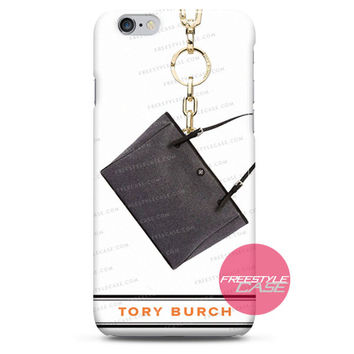 Tory Burch York Flannel Buckle Grey iPhone Case 3, 4, 5, 6 Cover