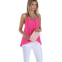 Promo- Pink Get In Swing Top