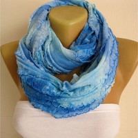 Infinity Scarf -Shawl -Circle Scarf Loop Scarf ,gift Ideas For Her Women's Scarves-christmas gift- for her -Fashion accessories