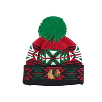 Geotech Cuffed Knit Chicago Blackhawks - Mitchell & Ness
