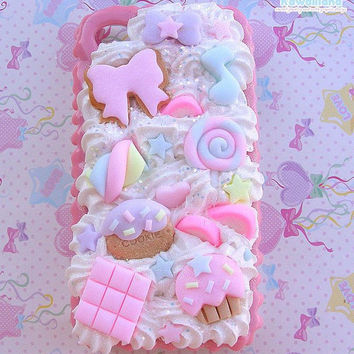 Decoden case shell for Iphone 4 and 4s cute and delicious