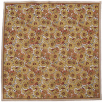 Sunflowers Table Cover Afghan Throw Blanket