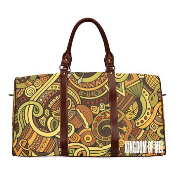 Mask of Africa Waterproof Travel Bag/Large