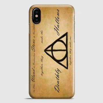 Harry Potter With Tribal Print iPhone X Case
