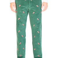 Beachcomber Corduroy Pant Hunter With Candy Cane