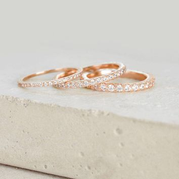 Full Eternity Band - Rose Gold