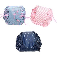 Drawstring Cosmetic Make-up Bag