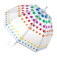 Totes Dotted Bubble Umbrella