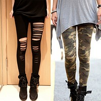 Women Stretch Skinny Leggings