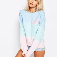 Kiss & Tell | Kiss & Tell Rainbow Sweatshirt With Glitter Planet at ASOS