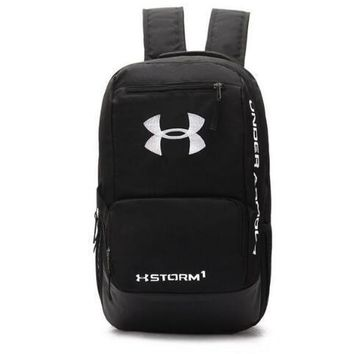 Day-First™ Under Armour Fashion Embroidery Shoulder Bag Travel Bag School Backpack H 8-22