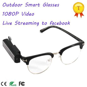 1080P Smart Glasses with Smart Phone APP For IOS and Android Phones
