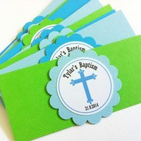 First Communion, Christening, Baptism Napkin Rings Party Decoration