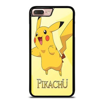FUNNY CUTE PIKACHU POKEMON iPhone 8 Plus Case