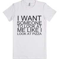 I Want Someone-Female White T-Shirt