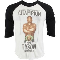 Roots of Fight Mike Tyson 3/4 Raglan Shirt