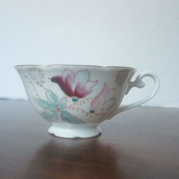 1940s Occupied Japan Hand Painted Tea Cup