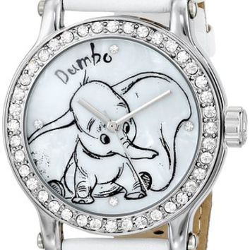 Ingersoll Women's IND26536 Dumbo Wrist Art Analog Display Quartz White Watch