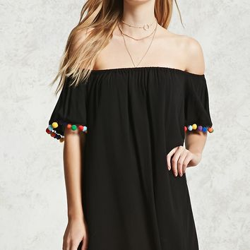 Contemporary Pom Pom Dress