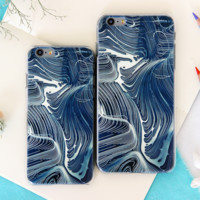 The New Creative Abstract Line Painting Iphone 7 7 plus 6 6s plus 5 5s se Case Cover Best Gift 003