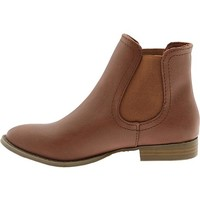 Women's Faux-Leather Ankle Boots