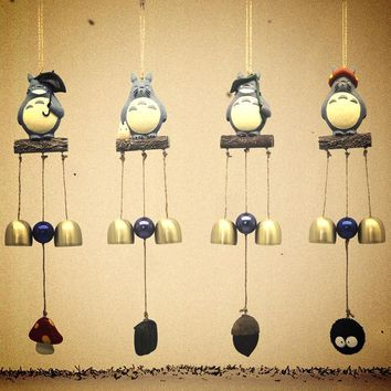 Totoro Resin Wind Chime 4PCS/SET ~