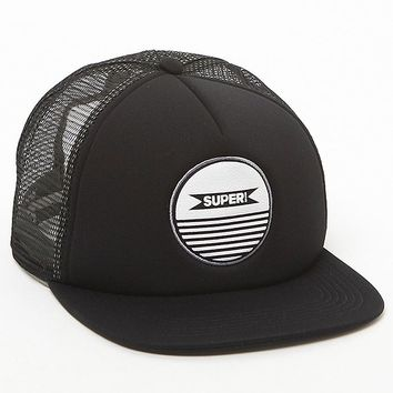 SUPERbrand Circle Trucker Hat - Mens Backpack - Black - One
