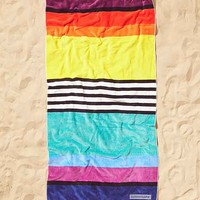 Sunnylife Sorrento Brighton Stripe Beach Towel- Red Multi One