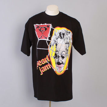 Vintage 90s PEARL JAM T-SHIRT / 1990s 1994 Deadstock 94 Tour Concert Tee Tshirt Shirt L New