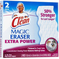Mr. Clean Extra Power Magic Eraser, 2 ct