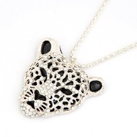 Leopard Long Necklace
