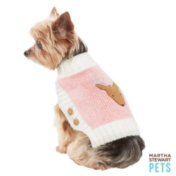 Martha Stewart Pets® Reindeer Sweater - Clothing & Accessories - Dog - PetSmart