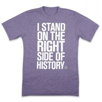HRC | Human Rights Campaign | Right Side of History T-Shirt